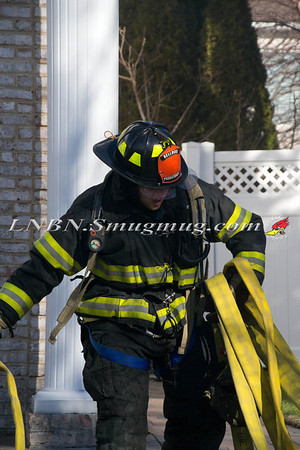 Bellmore F.D. House Fire 3159 Lee Place 1-19-2013