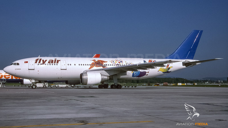 Fly Air Airbus A300 TC-FLE - Friendly Bird livery