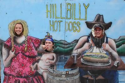 2015-10-31 Trip to Hillbilly Hot Dog