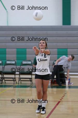 JV Volleyball Westwood v Stoughton 9_13_10