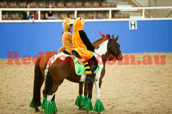 2014 08 23 PCAWA State Dressage Champs Musical Ride 3 Bunbury Peter Pan