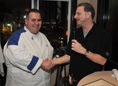 12/5/2009 Catamarans Chef Robert Hesse from Hell's Kitchen