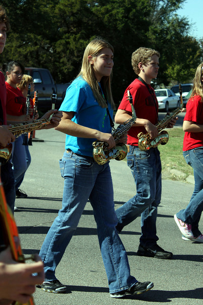 20101009 Fall Festival Parade Band