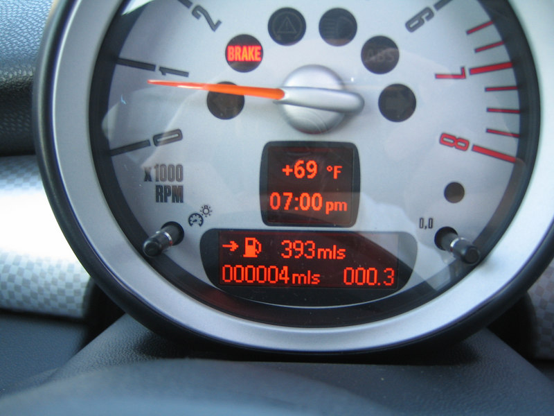 Having a car with only 4 miles on the odometer is a great feeling!