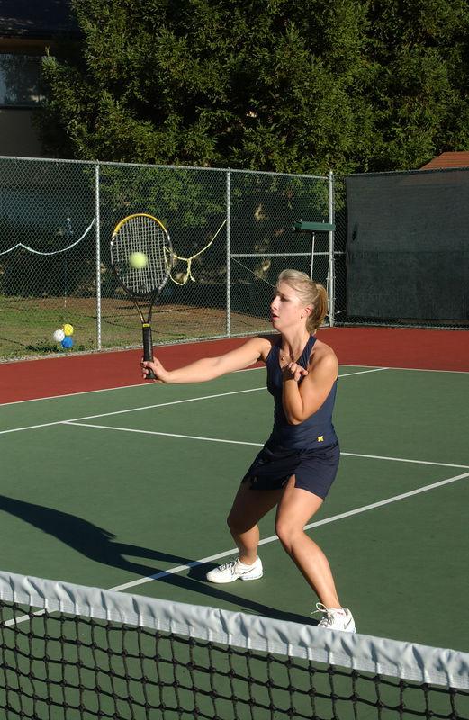 Menlo Girls Tennis 2005 - Player 9