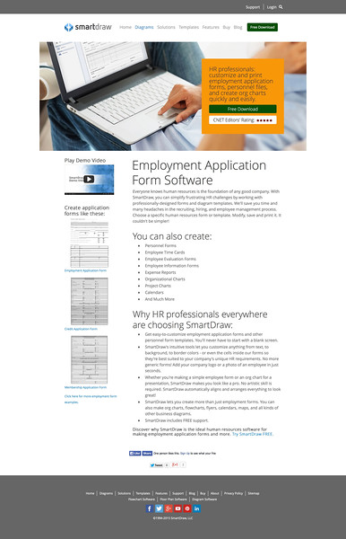 Employment Application Form Software - Free Download | SmartDraw.jpeg