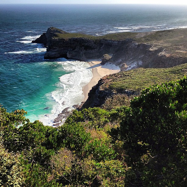Crystal skies, clear sea: today's conditions at Cape Point #MeetSouthAfrica