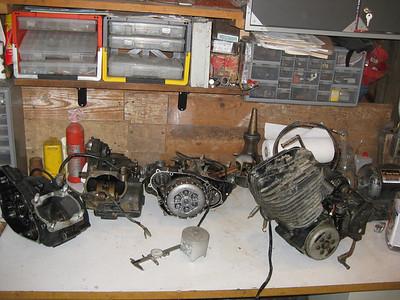 YZ465 Engine Rebuilding