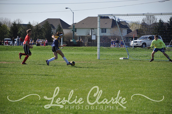 CYO 6th Grade OLMC Soccer 4/22/13