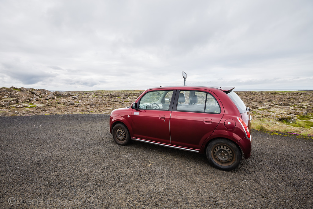 Rental Car- Driving in Iceland