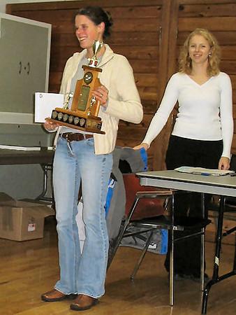 2005 PIH Awards Presentations - Most valuable runner Meghan Day
