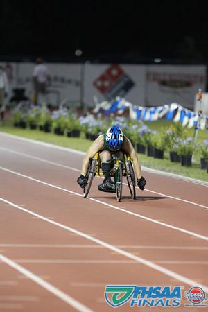 Class 3A - Running Event Finals - Boys 200m Wheelchair