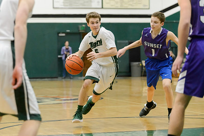 Tigard High School Freshman Boys BB vs Sunset