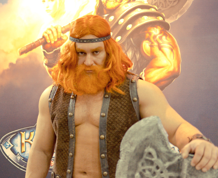 Dwarf at Igromir 2011