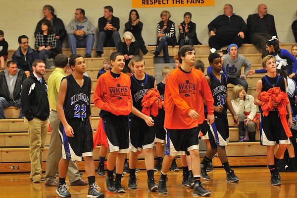 WKHS Boys Freshman Bball vs. Franklin Heights