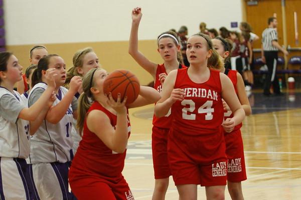 Sheridan vs Logan 6th Grade Girls
