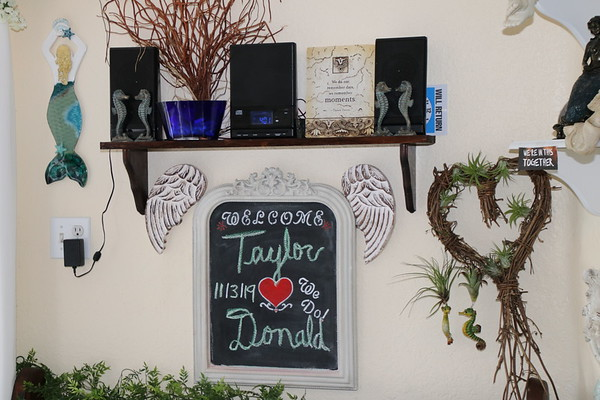 Taylor and Donald's Cocoa Beach Wedding Elopement at Surfside Wedding Chapel!