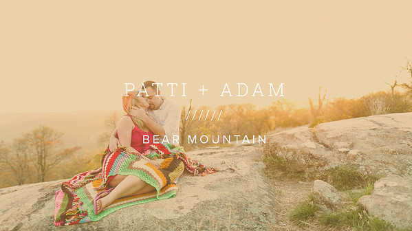 PATTI + ADAM ////// BEAR MOUNTAIN