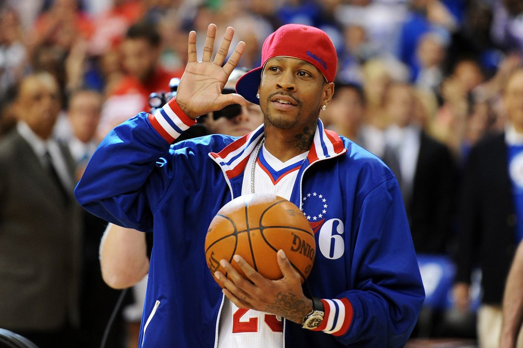 ". <p>3. (tie) ALLEN IVERSON <p>Will no longer play on an NBA court, the only place on Earth where he wasn�t a complete train wreck. (unranked) <p><b><a href=\'http://www.slamonline.com/online/nba/2013/08/allen-iverson-retirement-76ers-official/\' target=""_blank\""> HUH?</a></b> <p>    (Drew Hallowell/Getty Images)"