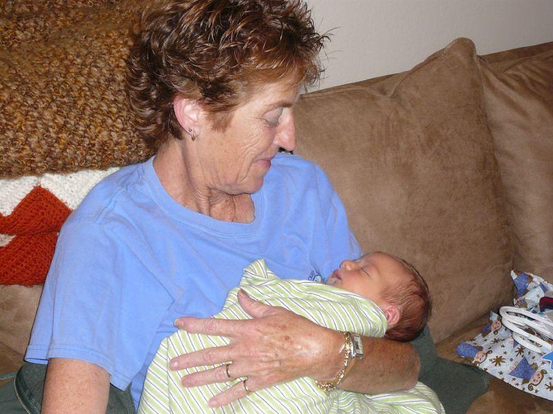 Visiting with Grandma