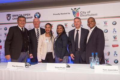 BMW SA Open 2017 Media Launch