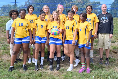 Girl's Volleyball 2016