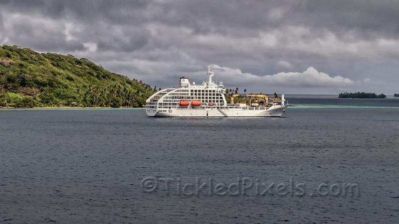 Dual-purpose Passenger/freighter Aranui 5