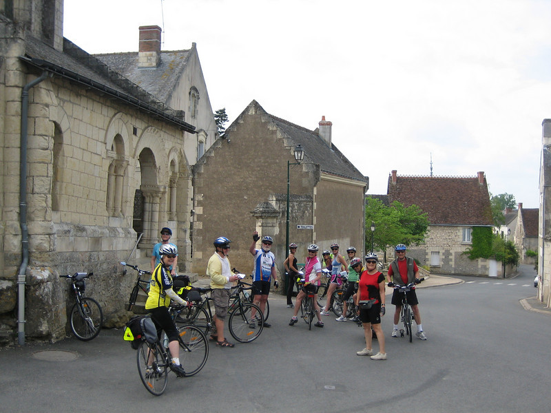 Some of the group-last day of riding