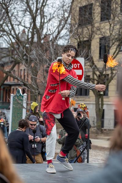March 2019 - Marche du Nain Rouge, Detroit: Joe Alcodray