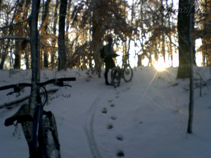 The Snow Came Down, The Sun Came Up, We Went Riding.