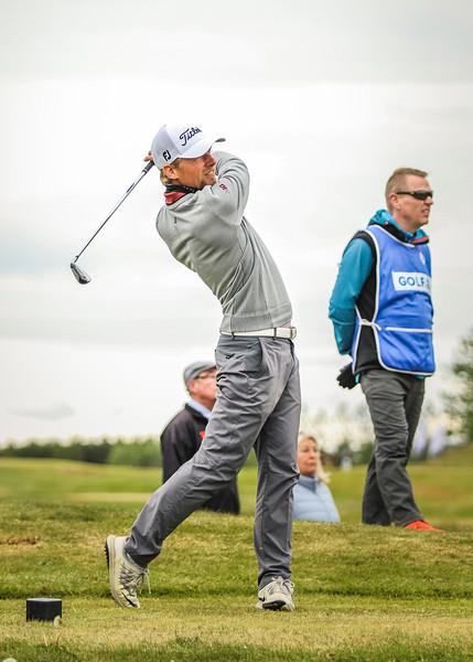 Rúnar Arnórsson, GK, á 14. teig.  Mynd/seth@golf.is