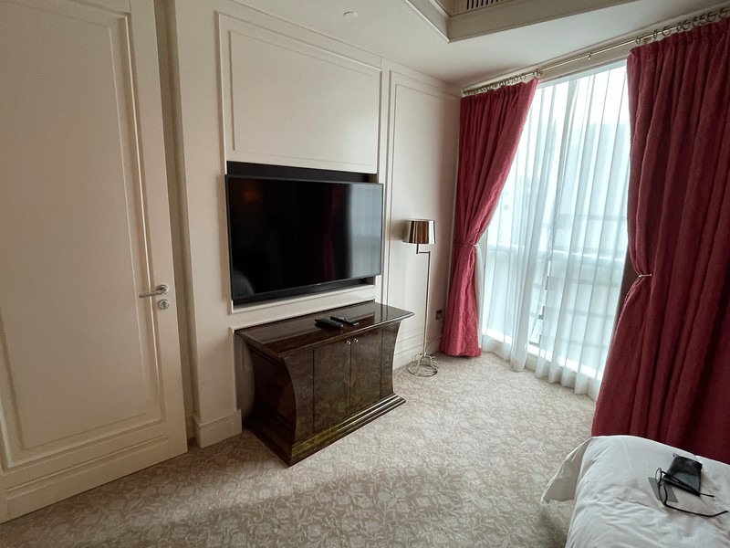 St Regis Singapore Master Bedroom