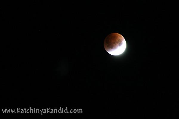 lunar eclipse 2007 & 2008