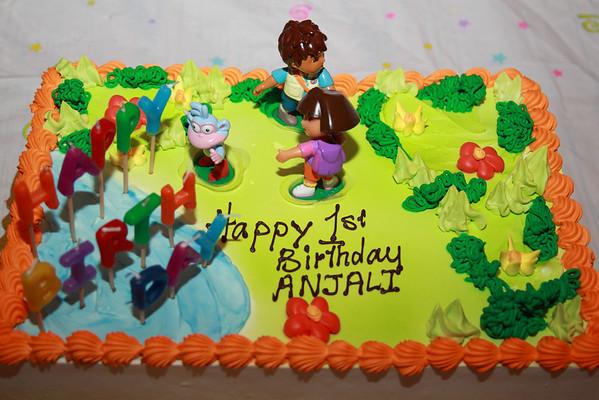 1st Birthday 2009
