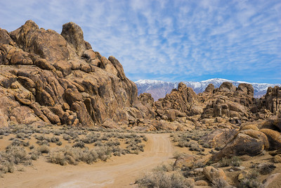 Rock Formations in the Alabama Hills