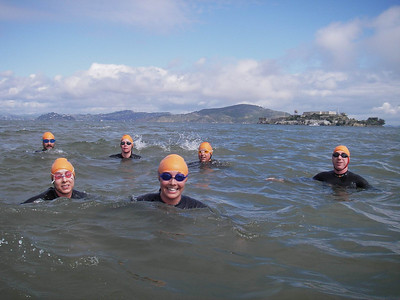 SUNDAY APRIL 6th, A GREAT MORNING SWIM-