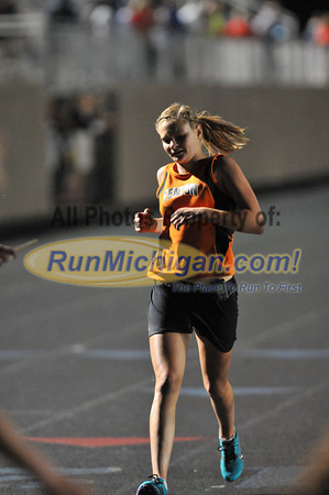 Girl's 3200 Meter Run - 2012 T&F Regional at Brandon