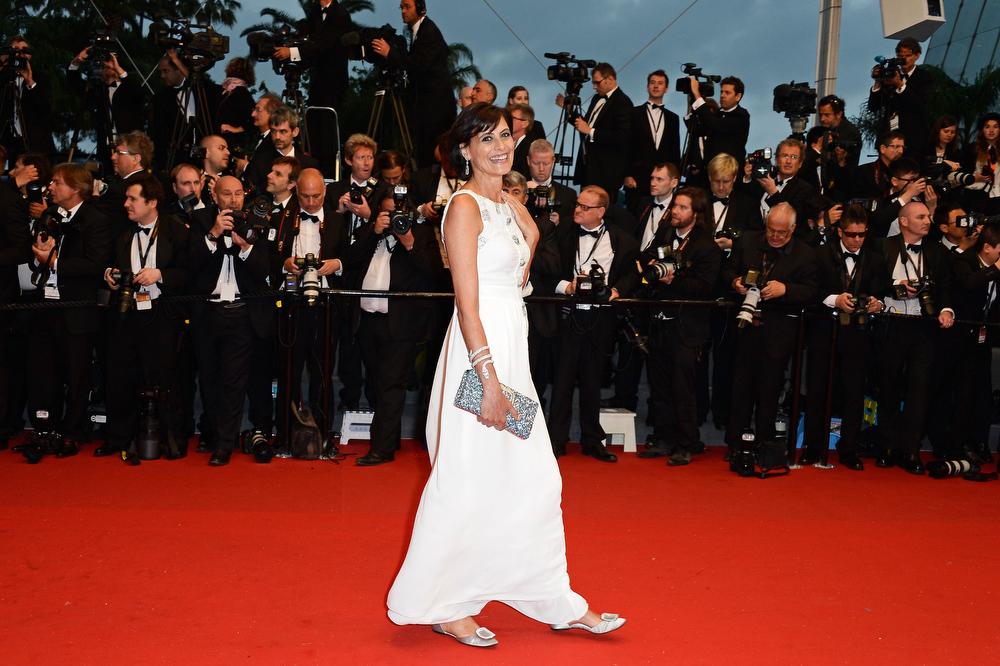 . Ines de la Fressange attends the Opening Ceremony and \'The Great Gatsby\' Premiere during the 66th Annual Cannes Film Festival at the Theatre Lumiere on May 15, 2013 in Cannes, France.  (Photo by Pascal Le Segretain/Getty Images)