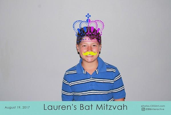 2017-08-19 Lauren's Bat Mitzvah