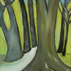 PAINTING OF EUCALYPTUS TREE