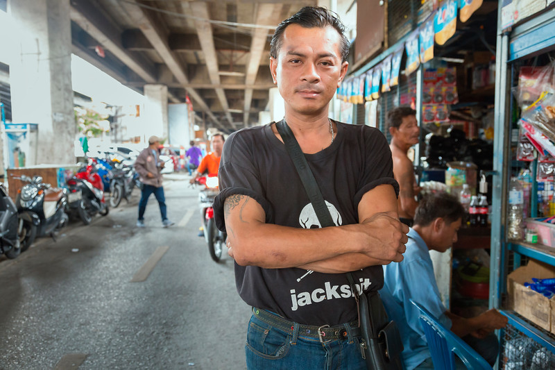 he asked me to take his picture - klong toey, bangkok
