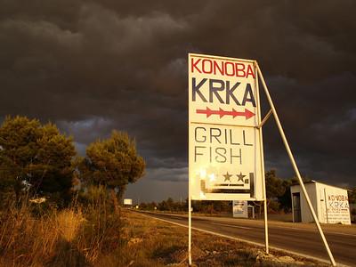 Sa 8.7.06: Split - Trogir -  Sibenik - Camp Krka