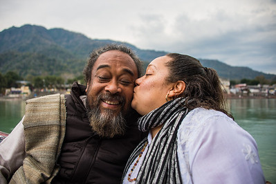 Photos with Mooji