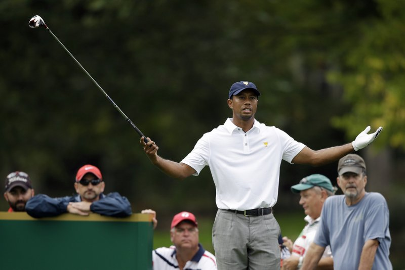 ". <p>8. TIGER WOODS <p>Really hates the label of �cheater.� Wonder what Elin thinks � (unranked) <p><b><a href=\'http://www.telegraph.co.uk/sport/golf/10391426/Tiger-Woods-could-sue-American-golf-analyst-Brandel-Chamblee-after-cheating-slur.html\' target=""_blank\""> HUH?</a></b> <p>    (AP Photo/Darron Cummings)"