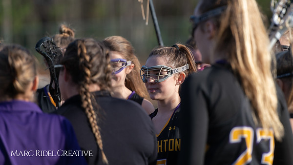 Broughton Lady Caps lacrosse at Middle Creek. February 26, 2019. D4S_1628