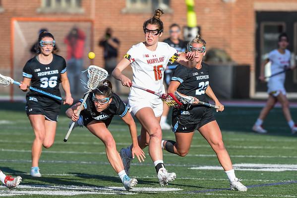 Hopkins @ Maryland - Women's Lacrosse 04.27.19