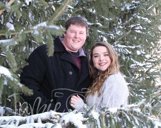 Caitlin and Derek