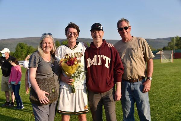 A Senior Moment...Boys Varsity Lacrosse photos by Gary Baker
