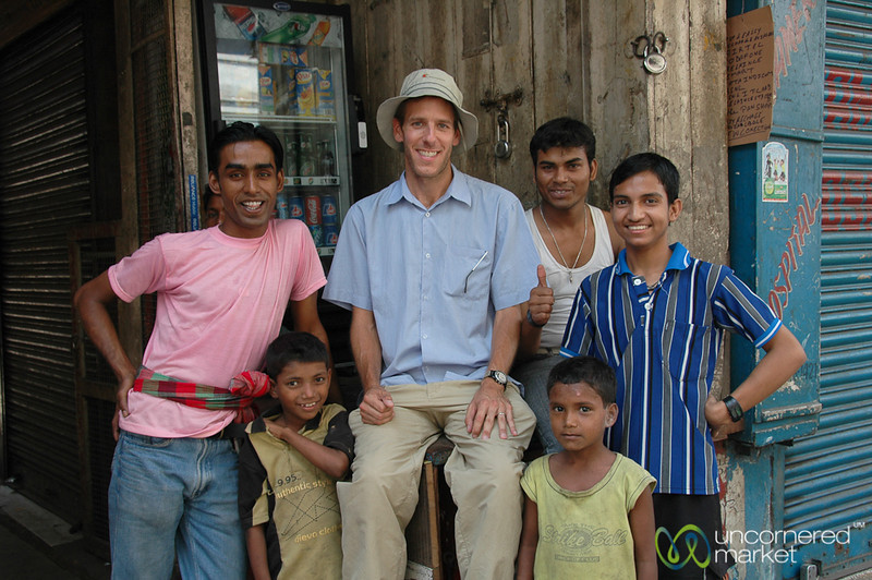 Dan and His Cricket Buddies - Kolkata, India