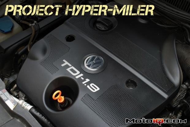 Project Hyper-Miler MKIV TDI Jetta Maintenance Engine